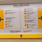 Nova sinalização Aeroporto Confins