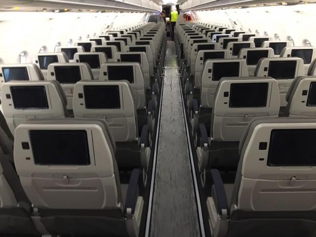 Veja fotos do interior do Airbus A320neo da Azul Linhas Aéreas